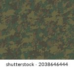 military camouflage pattern in... | Shutterstock .eps vector #2038646444