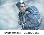 climber | Shutterstock . vector #203870161