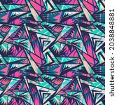 seamless abstract urban pattern ... | Shutterstock .eps vector #2038848881