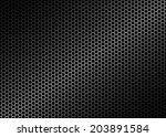 metal mesh seamless pattern ... | Shutterstock .eps vector #203891584