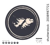 black grunge stamp circle... | Shutterstock .eps vector #2038987721