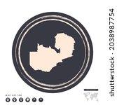 black grunge stamp circle... | Shutterstock .eps vector #2038987754