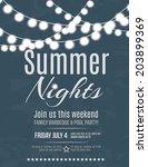 Elegant Summer Night Party...