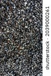 street covered pebbles on sea... | Shutterstock . vector #2039000261