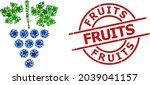 grapes bunch star pattern and... | Shutterstock .eps vector #2039041157