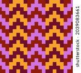 seamless pattern. oriental... | Shutterstock .eps vector #2039083661