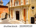 Church of the Immaculate Conception in the Old town of Antibes, Cote d