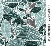 floral pattern seamless  eps 10   Shutterstock .eps vector #203915644