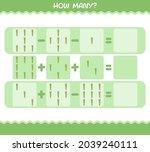 how many cartoon asparagus.... | Shutterstock .eps vector #2039240111