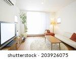 an image of living room | Shutterstock . vector #203926075