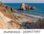 Large Rocks Off The Coast Of...