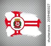 flag of sao paulo city  from...