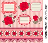banners and elements. templates.... | Shutterstock .eps vector #203948509