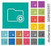 directory settings outline... | Shutterstock .eps vector #2039502557