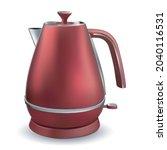 traditional stainless steel... | Shutterstock .eps vector #2040116531