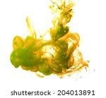 ink splash in water | Shutterstock . vector #204013891