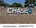Small photo of Prescott - Circa September 2021: Chase Bank retail location. Chase is the consumer and commercial banking business of JPMorgan Chase.