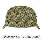 Military Camouflage Helmet....