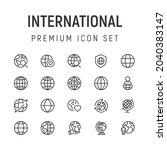 premium pack of internetional...