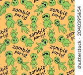 vector seamless pattern with...   Shutterstock .eps vector #2040395654