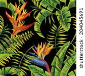 Tropic Summer Painting Seamles...