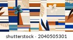 bright abstract floral... | Shutterstock .eps vector #2040505301