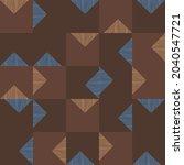 mid century abstract vector... | Shutterstock .eps vector #2040547721