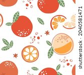 abstract contemporary seamless...   Shutterstock .eps vector #2040581471