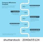 modern company milestones...   Shutterstock .eps vector #2040655124