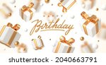 birthday greeting design.... | Shutterstock .eps vector #2040663791