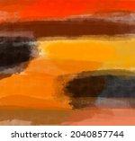 abstract art autumn background. ... | Shutterstock . vector #2040857744