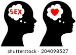 vector illustration of person... | Shutterstock .eps vector #204098527