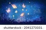 vector illustration with... | Shutterstock .eps vector #2041273331