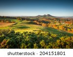 The Rolling Autumn Hills Of Th...