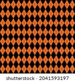halloween seamless pattern...   Shutterstock .eps vector #2041593197