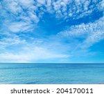 Sea Beach Blue Sky