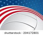 volleyball background | Shutterstock .eps vector #204172801