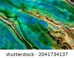 a fluid art texture is created...   Shutterstock . vector #2041734137