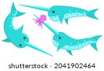 set abstract collection flat... | Shutterstock .eps vector #2041902464