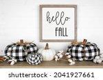 Modern Farmhouse Autumn Shelf...