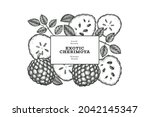 hand drawn sketch style... | Shutterstock .eps vector #2042145347