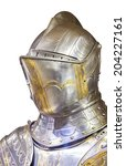 Small photo of An old suit of armour