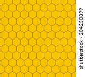 honeycomb   vector | Shutterstock .eps vector #204230899