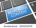 responsive content   keyboard...
