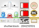 vector traveling and transport...   Shutterstock .eps vector #204253531