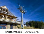 chair lift in tatra mountains | Shutterstock . vector #20427376