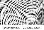 vector modern optical texture... | Shutterstock .eps vector #2042834234