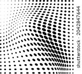 abstract halftone wave dotted...   Shutterstock .eps vector #2042847644