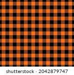 halloween seamless pattern...   Shutterstock .eps vector #2042879747