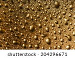 colored drops on the surface  | Shutterstock . vector #204296671